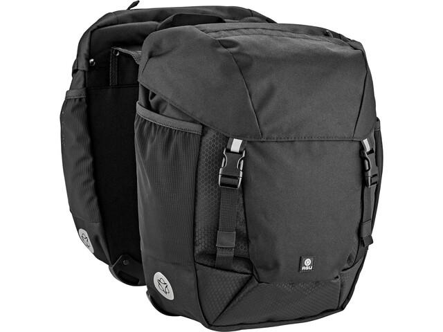 AGU Performance DWR Double Pannier Bag MIK, czarny